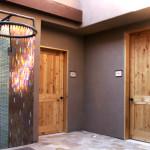 Knotty alder doors at Ritz Carlton Dove Mountain near Tucson