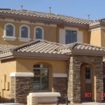 Single-family housing project near Phoenix, AZ