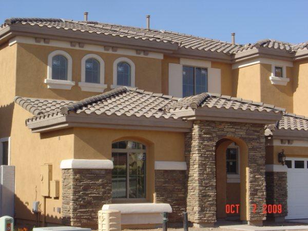 Single-family housing project near Phoenix, AZ